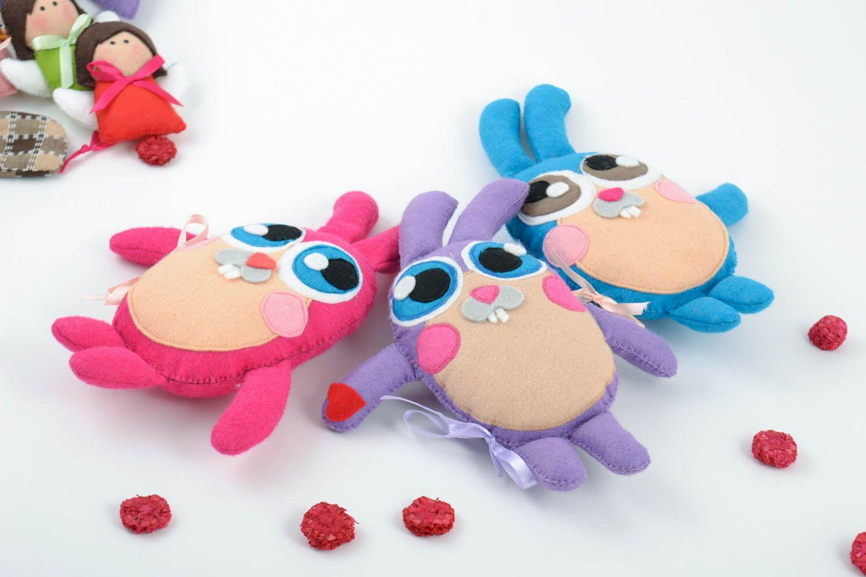 Шитые игрушки из ткани своими руками