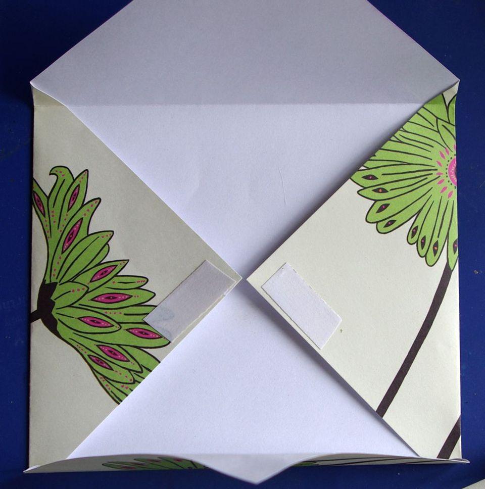 Открытка из листа бумаги а4