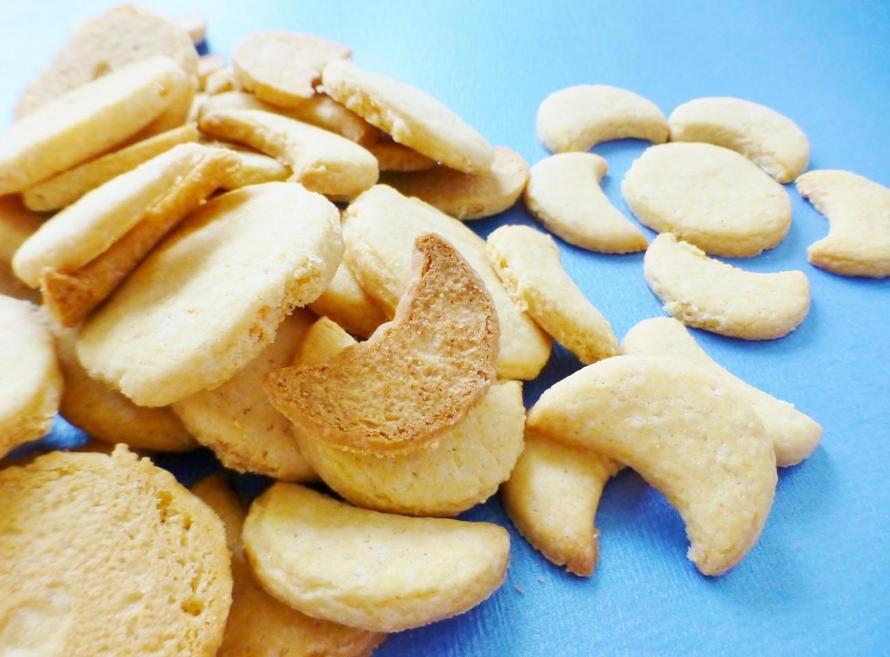 Домашнее печенье на кефире и маргарине простой